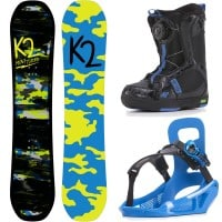 K2 Mini Turbo Boys XS Package Snowboardset 2018