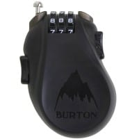 Burton Cable Lock Translucent Black