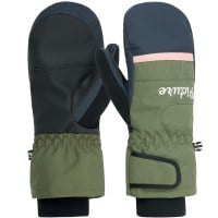 Picture Kenosee Mitts Dark Blue Army Green