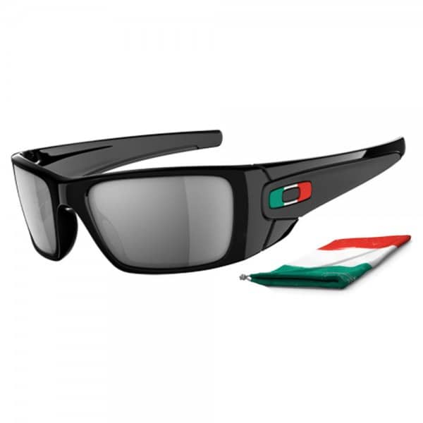 Oakley Fuel Cell WM Edition Italien Polished Black/Black Iridium