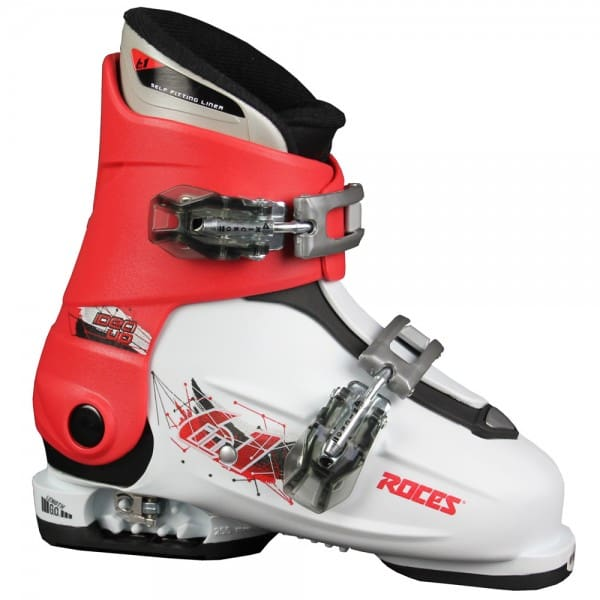 Roces Idea Up Kinder-Skistiefel White/Red/Black