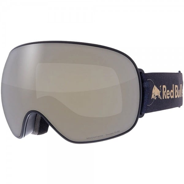 Red Bull Spect Eyewear Magnetron Black Frozen Gold Smoke