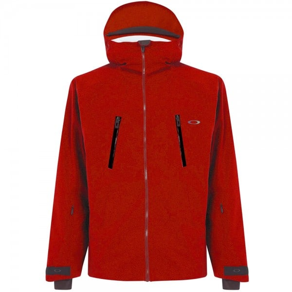 Oakley Ski Shell Jacket Herren-Skijacke Red Line