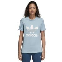 adidas Originals Trefoil Tee Damen-Shirt Ash Grey