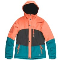 Oneill Coral Jacket Kinder-Snowboardjacke Fusion Coral