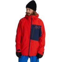 AK Burton Cyclic Jacket Flame Scarlet/Dress Blue