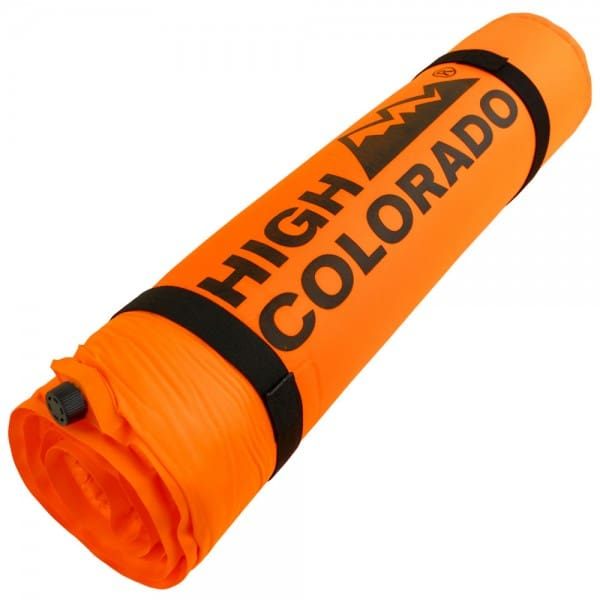 High Colorado Self Inflating Selbstaufblasende Trekkingmatte Orange
