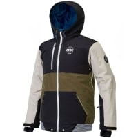 Picture Panel Jacket Herren-Snowboardjacke Black