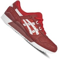 Asics Tiger Gel-Lyte III Unisex-Sneaker True Red/White