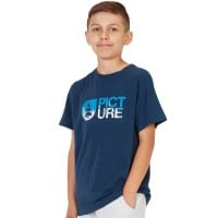 Picture Roots Shirt Kinder-Kurzarmshirt Dark Blue