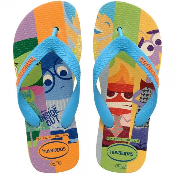 Havaianas Kids Flip Divertidamente Flops Citrus Yellow