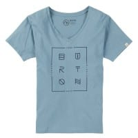 Burton Neversleep V-Neck Damen-Shirt Winter Sky