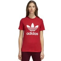 adidas Originals Trefoil Tee Damen-Shirt Real Red