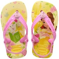 Havaianas Baby Disney Princess Kleinkind-Slipper Pollen Yellow Belle