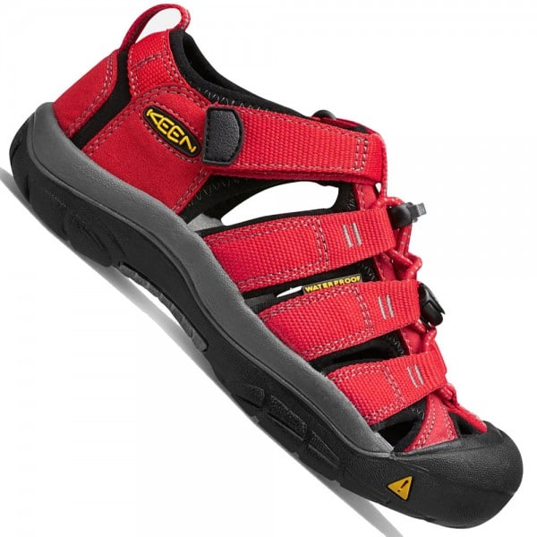 Keen Children Newport H2 Kinder-Sandalen Ribbon Red/Gargoyle