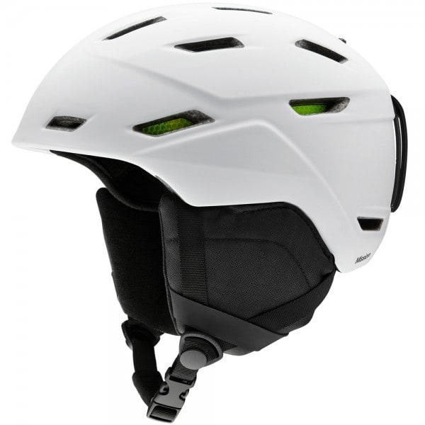 Smith Mission Snowboardhelm Matte White