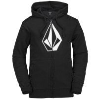 Volcom JLA Stone Zip Fleece Herren-Fleece Hoodie Blackk