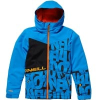 Oneill Hubble Jacket Kinder-Snowboardjacke Black/Blue
