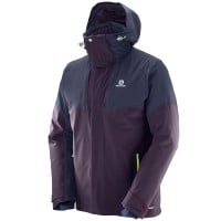 Salomon Icerocket Jacket Herren-Skijacke Maverick Night Sky