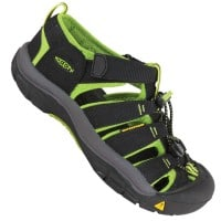 Keen Newport H2 Junior Black/Lime Green