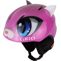 Giro Launch Plus Kinder-Skihelm Pink Meow