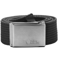 Fjaellraeven Canvas Belt Dark Grey