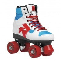 Roces Disco Palace Rollschuhe (White/Blue/Red)