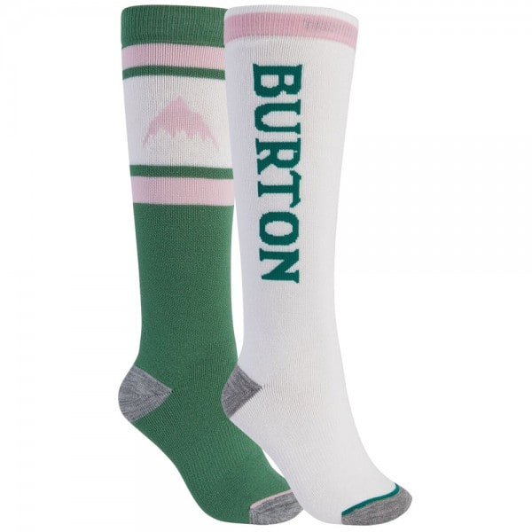 Burton Womens Weekend Midweight 2 Pack Frosty Spruce Stout White