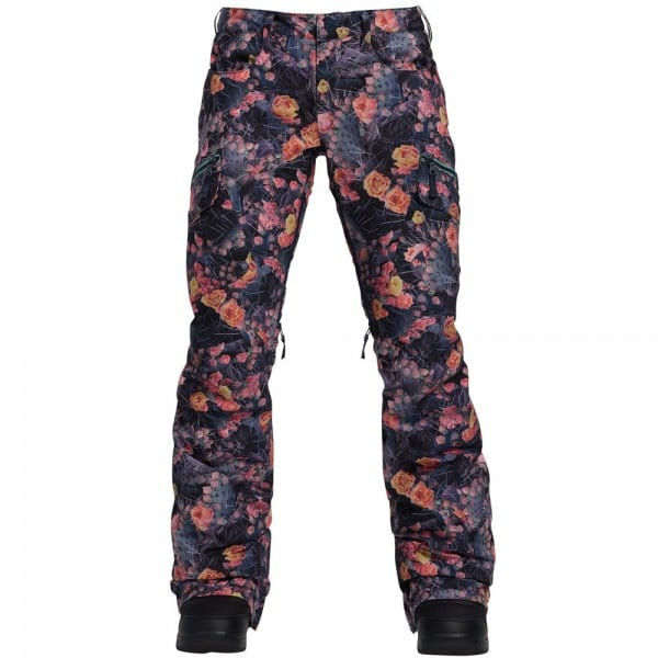 Burton Gloria Pant Damen-Snowboardhose Prickly Pear
