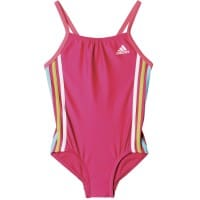 adidas Performance Infinitex 3 Stripes Suit Kinder-Badeanzug Bold Pink