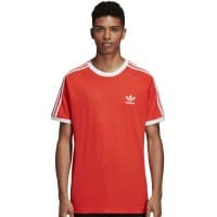 adidas Originals 3 Stripes Tee Herren-Shirt Bright Red