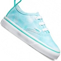 Vans T Authentic V Lace Kleinkind-Sneaker Tie Dye Turquoise